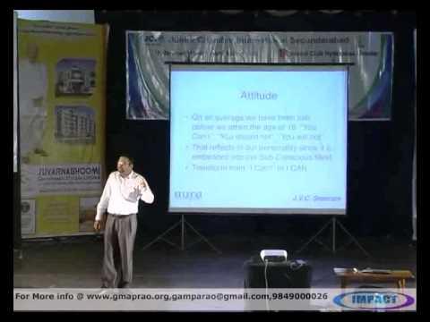 Transformation|JVC Sreeram|TELUGU IMPACT Hyd 2012