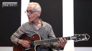 Pat Martino - Shapes for improvisation (Lesson Excerpt)