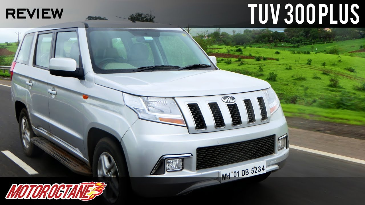 Motoroctane Youtube Video - Mahindra TUV300 Plus Review | 9 Seater SUV | Hindi | MotorOctane
