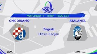 GNK DINAMO - ATALANTA BC | UEFA YOUTH LEAGUE