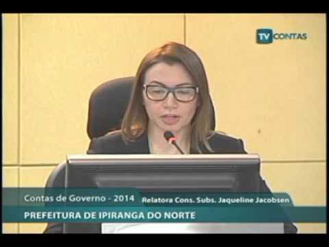 CONTAS ANUAIS DE GOVERNO MUNICIPAL - EXERCÍCIO 2014