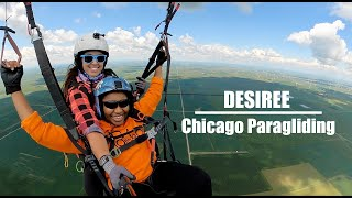 Tandem with Desiree | Chicago Paragliding