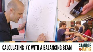 Pi Day 2019: calculating π with a balancing beam