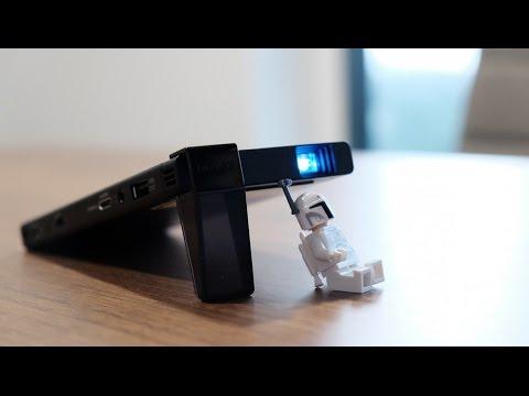 استعراض لأول بروجكتر محمول بتقنية الليزر!