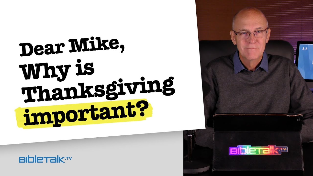 9. Why is Thanksgiving important?