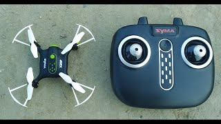 SYMA Mini Pocket Drone Headless Mode 2.4Ghz Nano LED RC Quadcopter Altitude Hold