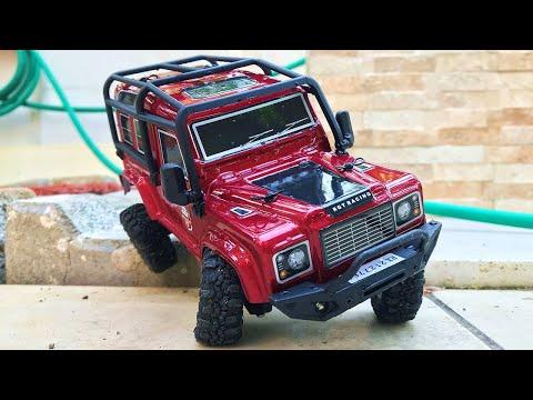 1/24 RC Land Rover Defender All-Terrain Test   RGT 136240 V2 RC Crawler