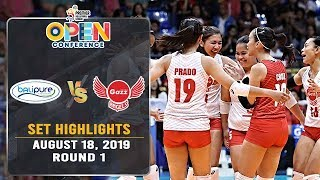 BaliPure vs. Petro Gazz | Set 2 Highlights - August 18, 2019 | #PVL2019