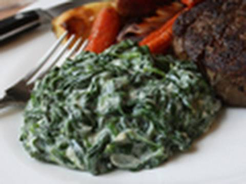 Creamed Spinach Recipe – Steakhouse Creamed Spinach