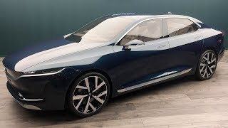 Tata E Vision Sedan Concept - World Exclusive | MotorBeam