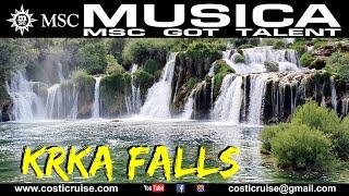 MSC MUSICA & KRKA FALLS (CROATIE)