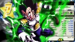 The BEST Green Unit! 7 Star Vegeta! | Dragon Ball Legends