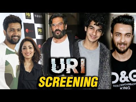 Ishaan Khatter, Aayush Sharma, Suniel Shetty At UR