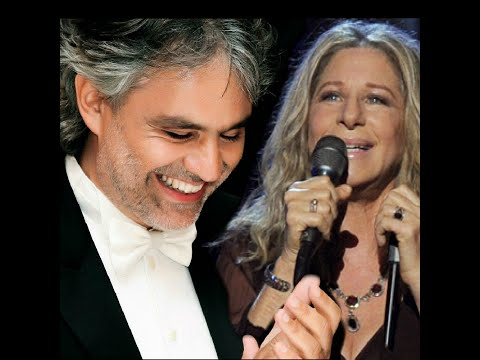 ", title : 'Barbra Streisand with Andrea Bocelli  ""I Still Can See Your Face""'"