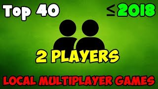 Top 40 Best Local Multiplayer PC Games (My ranking) / Splitscreen / Same PC / LOCAL CO OP