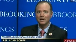 Congressman Schiff Makes Clear RUSSIA IS THE BIGGEST EVIL IN THE WORLD!!!