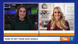 Set Your 2021 Goals – Heather Hans 9News Denver