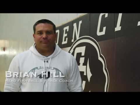 Brian Hill, Head Football & Track Coach