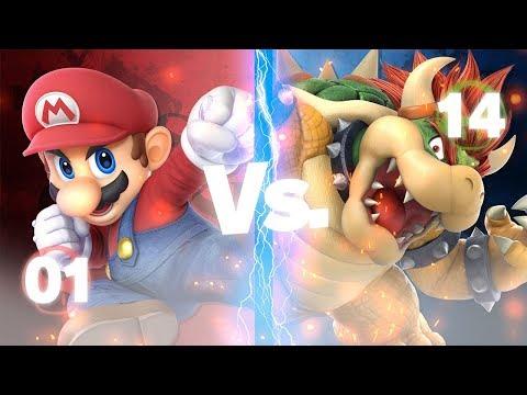 Mario vs Bowser - Nintendo Epic Rap Battle - смотреть онлайн