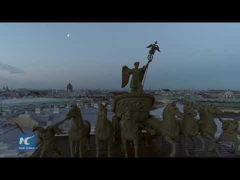 Amazing White Nights in St.Petersburg