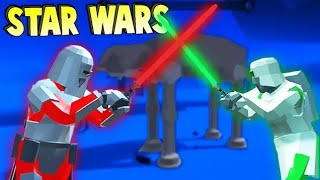 Ravenfield STAR WARS LightSabers, Jedi Force Powers & More! (Ravenfield Beta Gameplay)