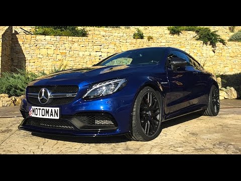 2017 Mercedes Benz C63 S AMG COUPE TECH REVIEW