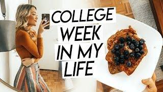 College Week In My Life Nyc   Last Week Of Classes, Graduation Prep, Productive Week!