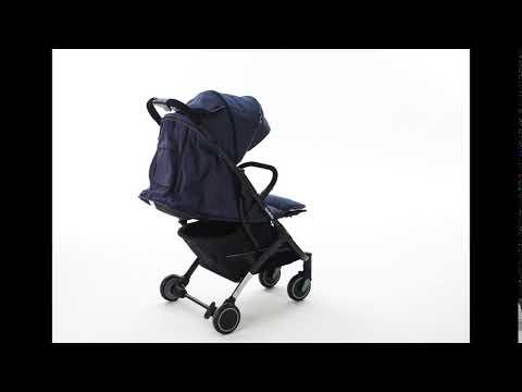 Прогулочная коляска BabyZz D200 (белая рама)