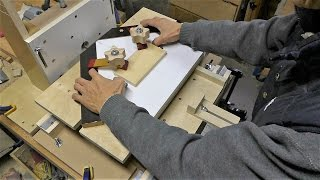 Make A Horizontal Router Table