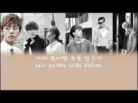 [Thai sub][Singing Part] B.A.P - Coffee shop