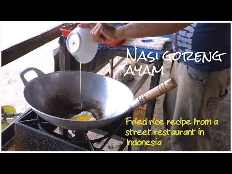Nasi Goreng Ayam Indonesian Recipe // Authentic Video Recipe // Fried Rice With Chicken
