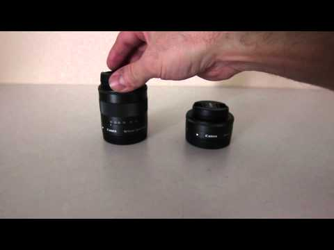 Canon EOS M Kit Lenses  EF M 22mm vs EF M 18-55mm