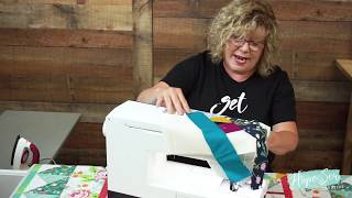 How To Crazy Quilt With HopeYoder