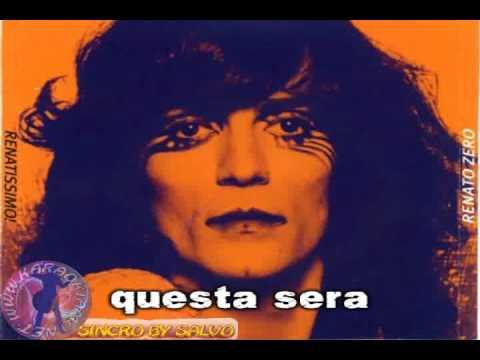 Renato Zero - Il jolly  (karaoke fair use)