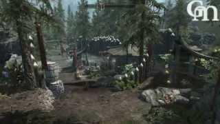 Обзор мода Skyrim #7 - Палаточный лагерь для игрока