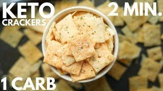 easy almond flour cracker recipe