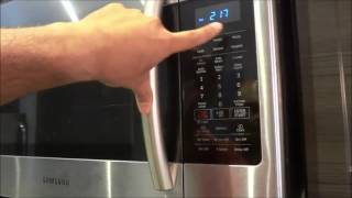 How To Use An Over-The-Range Microwave-FULL Tutorial