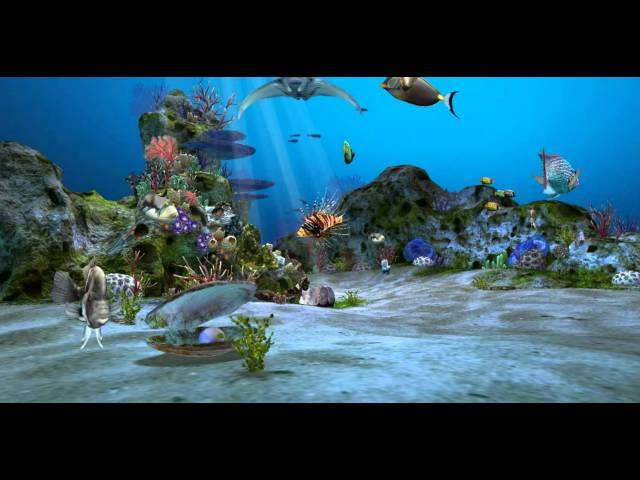 3d Aquarium Live Wallpaper Hd By Dynamicart Creator 3