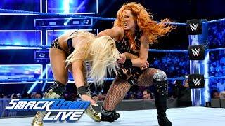 Becky Lynch vs. Mandy Rose: SmackDown LIVE, May 8, 2018 - Video Youtube