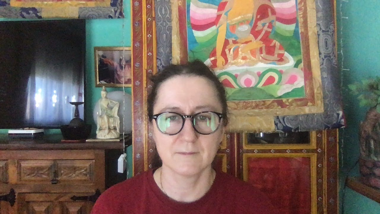Lama Gangchen Tantric Self-Healing 2- Commentary by Lama Caroline - part 65 (EN) Bodhichitta