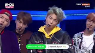 BTS-21st Century Girls Live @Show Champion 161019