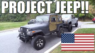 BUYING A $2,000 JEEP!