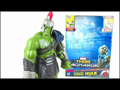 THOR RAGNAROK Interactive Gladiator Hulk Toy Review | StephenMcCulla