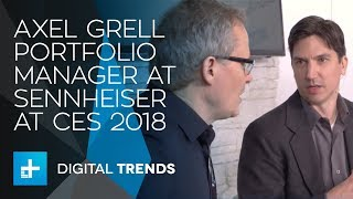 Axel Grell Portfolio Manager at Sennheiser - Interview at CES 2018
