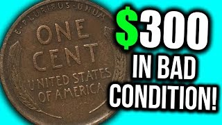 SUPER EXPENSIVE OLD PENNY COINS TO LOOK FOR!! 1914 WHEAT PENNIES WORTH MONEY