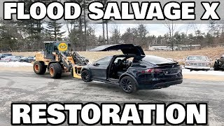 Restoring a Flood Salvage Tesla Model X Part 1