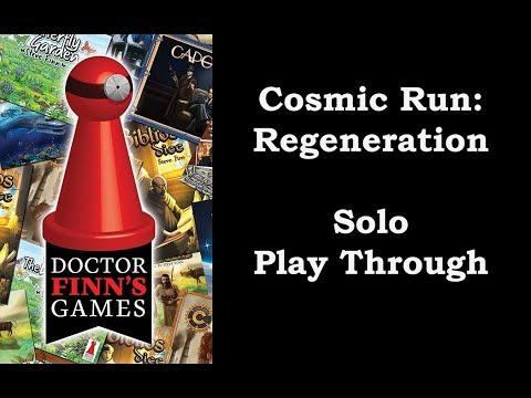Solo Play of Cosmic Run: Regeneration