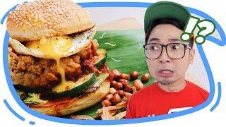 Video McD Jual BURGER RASA NASI UDUK! OMG!!! Enak Gak Ya? MP3, 3GP, MP4, WEBM, AVI, FLV September 2019