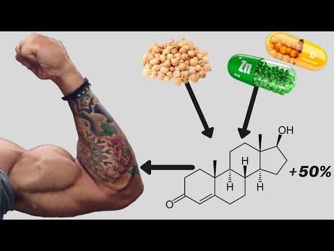 Wzrost mięśni w Ectomorphs