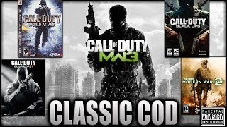 THE GOOD OLE DAYS...MW2, MW3, BO1, BO2, WAW 😈 Classic Call of Duty on the PS3